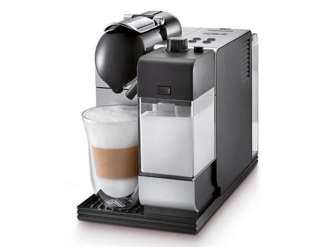 Nespresso De'Longhi Lattissima Plus Silver EN520S, Coffee Machine, DeLonghi | TME Online