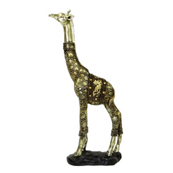 "Giraffe facing forward 12"" poly resin, Sculptures & Figurines, n/a 