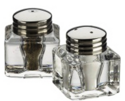 Salt & pepper mini set Inkwell