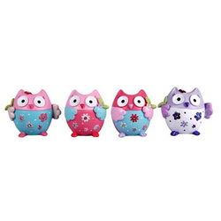 Flower owls in a set of 4, Sculptures & Figurines, n/a | TME Online