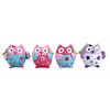 Image of Flower owls in a set of 4, Sculptures & Figurines, n/a | TME Online