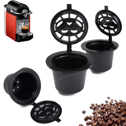 Refillable Coffee Capsule Pods Cup Reusable Filter For Nespresso Machine
