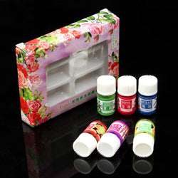6pcs Water-soluble Essential Oil Flower Spa Aromatherapy Pure Therapeutic Plant Headache Relief, Essential Oils, TME Online | TME Online
