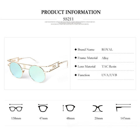 steampunk sunglasses product info