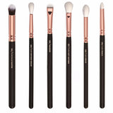 12Pcs Rose Golden Complete Eye Set Makeup Brushes