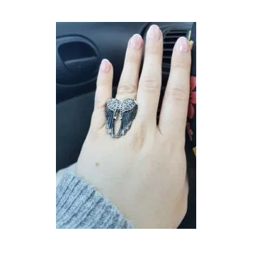 Antique Angel Wings Ring Vol. 2