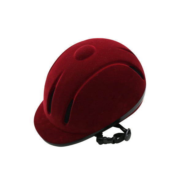 CE approve flock equestrian helmet