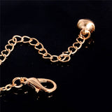Gold Chain Feather Woman Anklets Bracelet