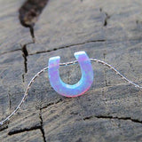 Horse Shoe Opal Necklace
