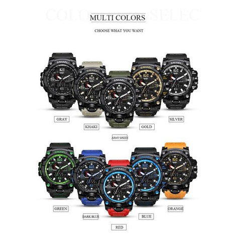 Sophisticated Waterproof Military Watch