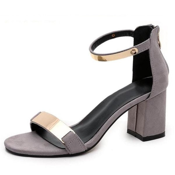 Summer Gladiator Women High Heels Sandals