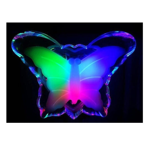 Lovely Butterfly Bedside Lamps Night Decor
