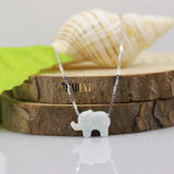 Elephant Opal Necklace