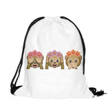 Emoji Drawstring Bag w/ FREE Make-Up Bag