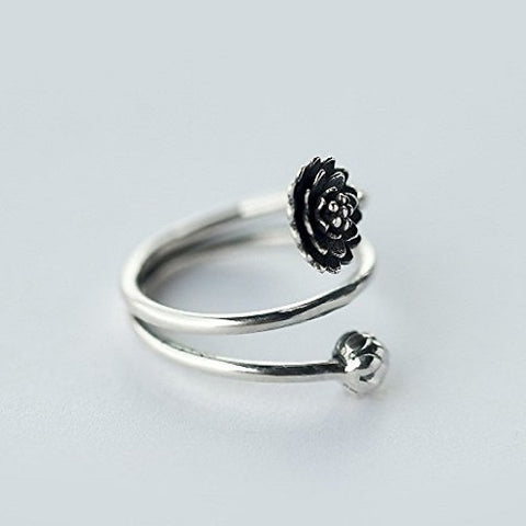 Multi Layers Lotus Flower Ring