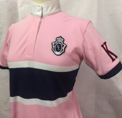 KINGSLAND EQUESTRIAN Ladies Pink Short Sleeve