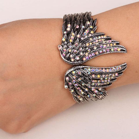 Angel Wings Feather Bracelet