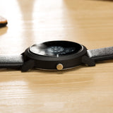 Creative Design Digital Disc Watch
