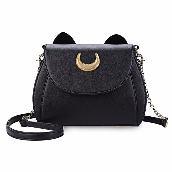 Sailor Moon Adorable  Luna Cat Shoulder Bag