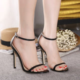 Classics Sexy Peep Toe Stiletto High Heels Shoes