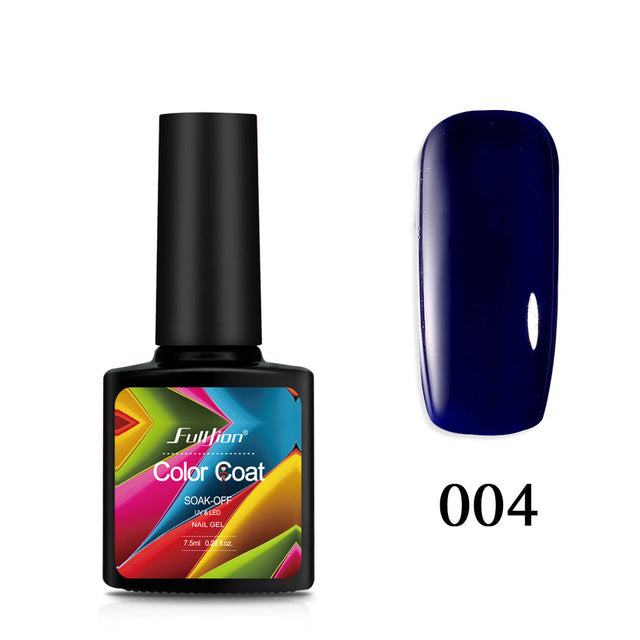 Gel Nail Polish Glitter Color Coat