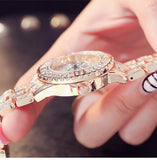 Rhinestone Diamond Luxury Bracelet Wristwatch
