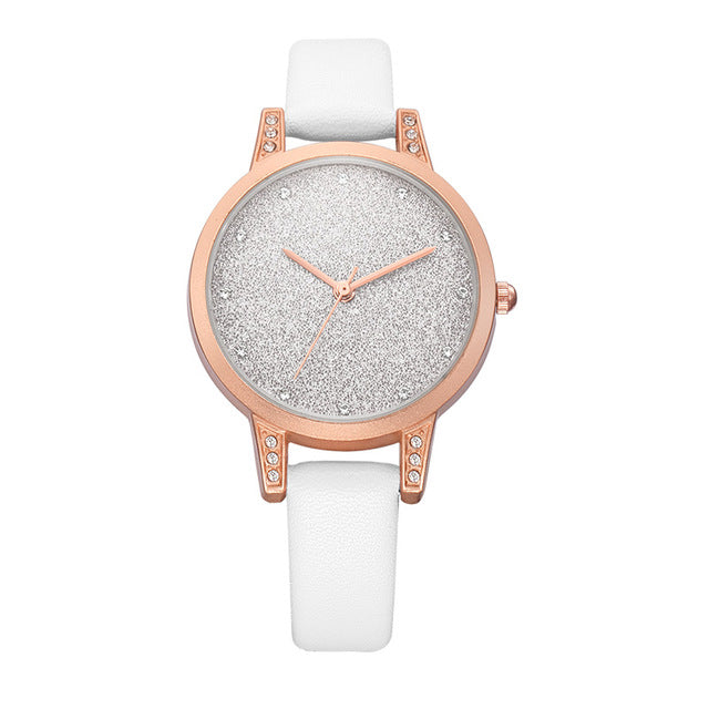 Charming Fashion Rhinestone Quartz Watch