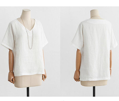 Casual Tops Fashion Plus Size Blouses