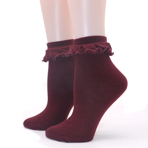 Lace Lovely Ruffle Retro Cute Socks