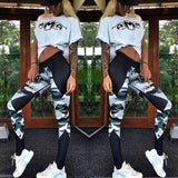 Camo High Waist Sport  Slim Leggings