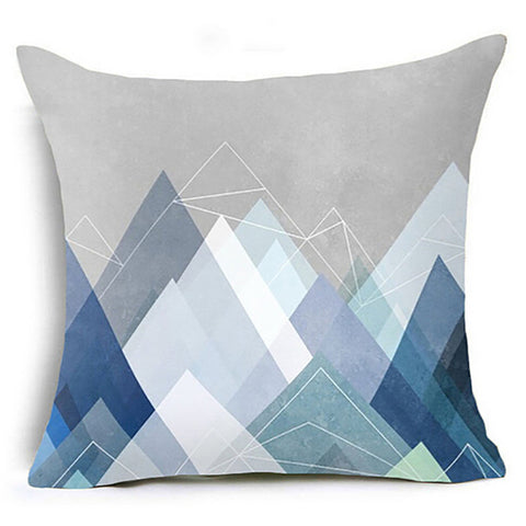 Geometric Waist Removable & Washable Pillow
