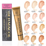 Authentic 30g Dermacol Base Makeup Cover Concealer