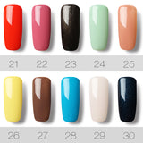 UVLED Gel Lacquer For Nail Extension Design