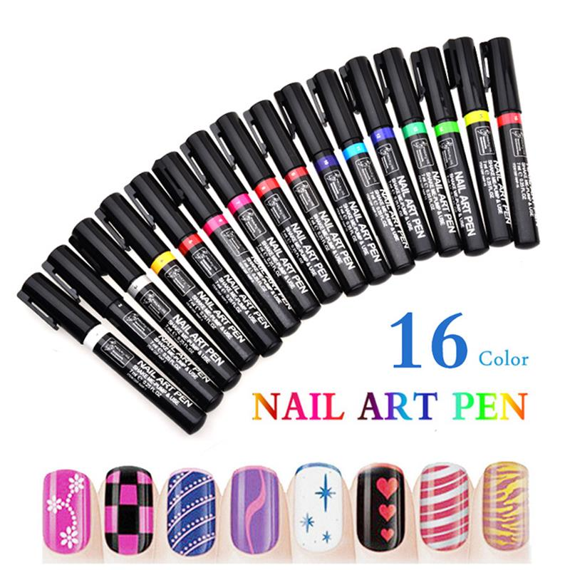 3D Design Nail Beauty Tools Paint Pens