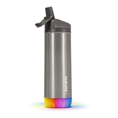 Hidrate Spark Steel 17oz / Brushed / Straw Lid Smart Waterbottle - Gift This!