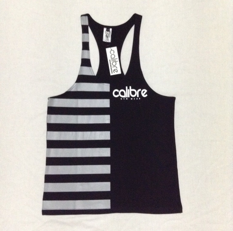 Calibre Contrast Tank - Black / Grey