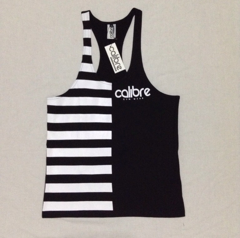 Calibre Contrast Tank - Black / White
