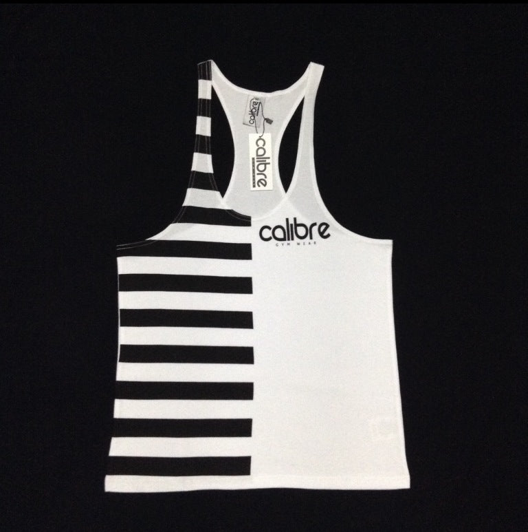Calibre Contrast Tank - White / Black