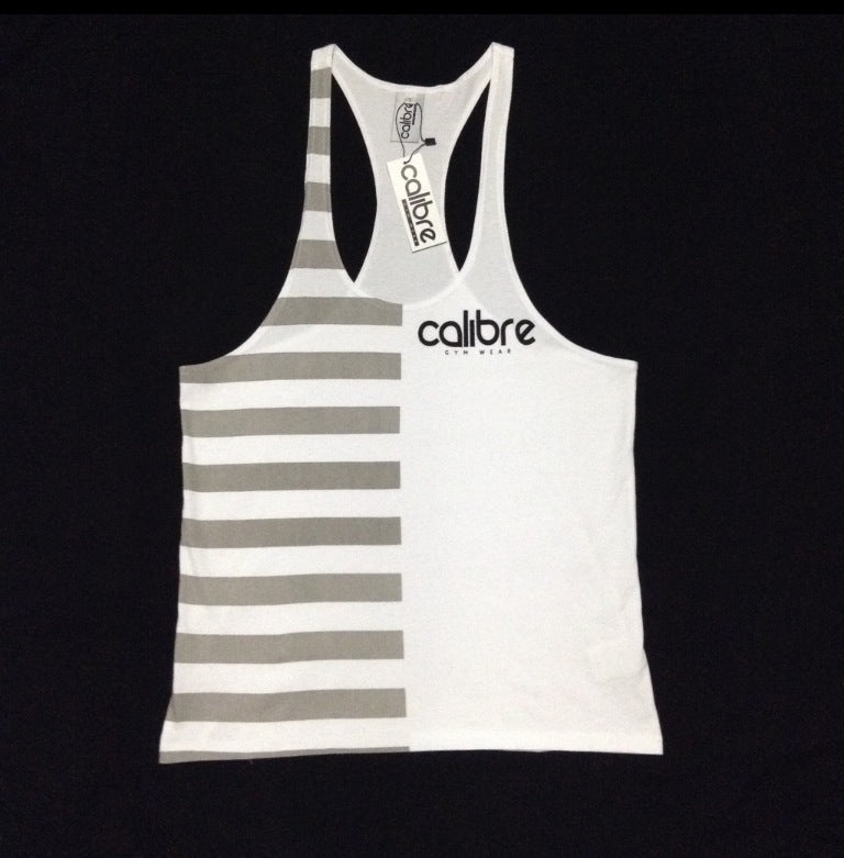 Calibre Contrast Tank - White / Grey