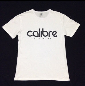 Calibre Iconic Logo Tee - White