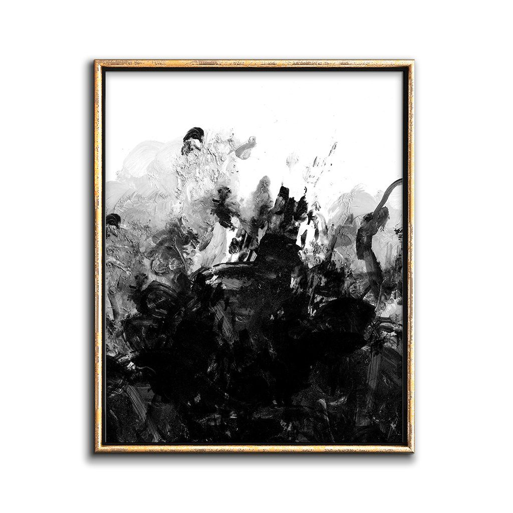 dark abstract painting downloadable print