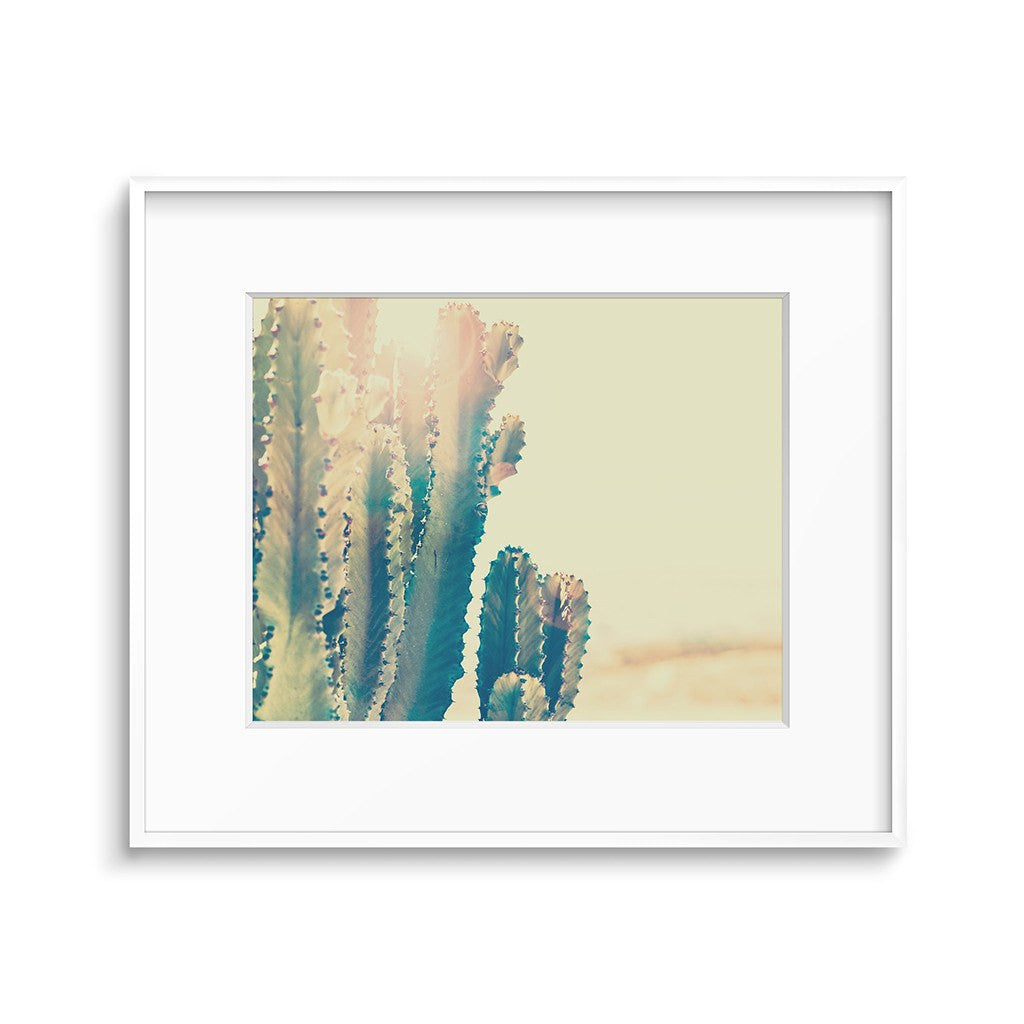 Retro Desert Art Cactus Print Printable Wall Decor