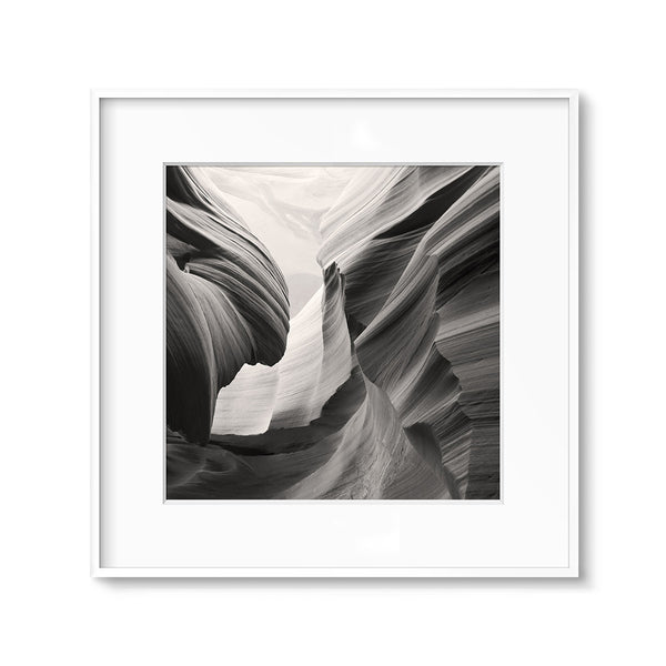 Desert Wall Decor Printable Black and White Sepia Antelope Canyon Printable Art