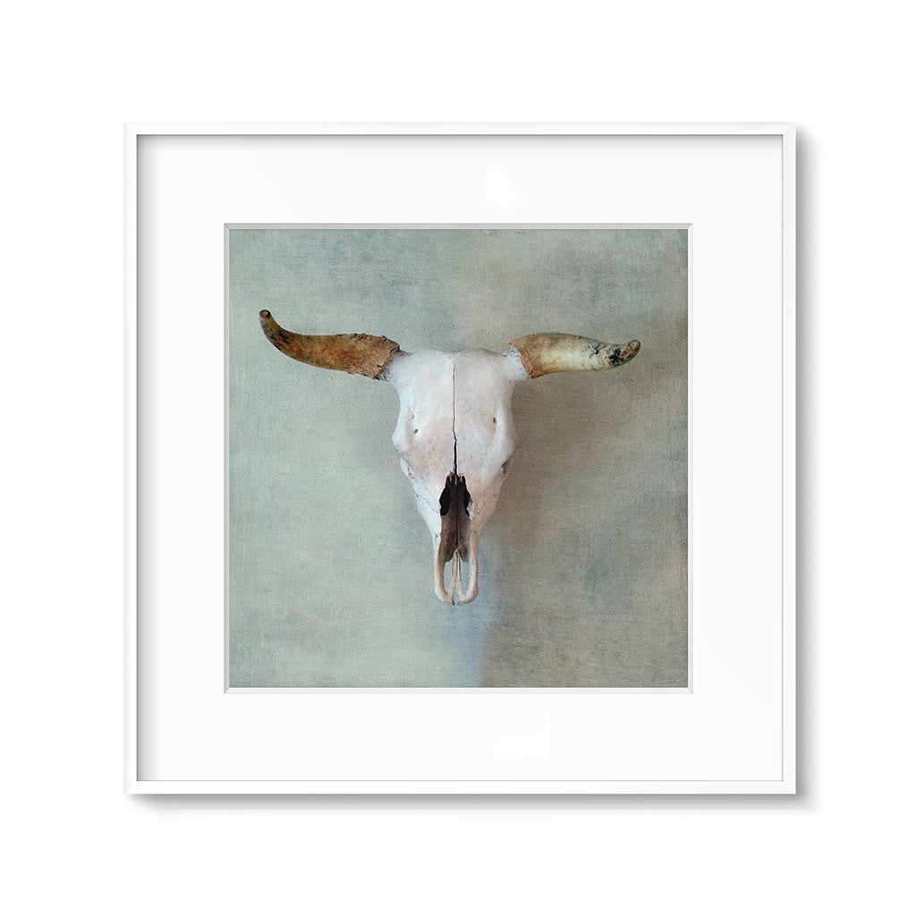 southwestern decor cow skull wall art print printables
