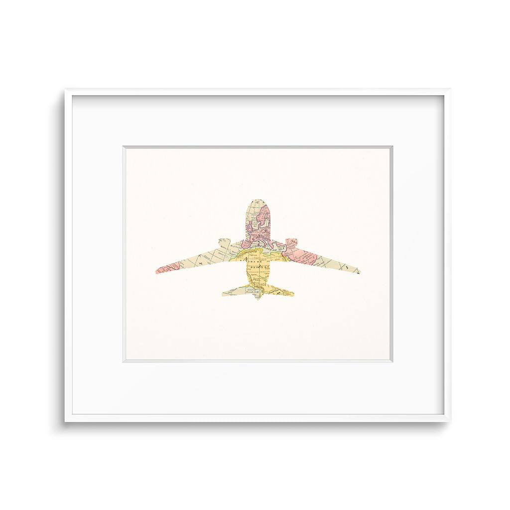 It is a photo of Airplane Printable for lego