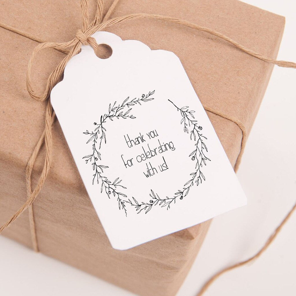 Printable Favor Tags - Thank you for celebrating with us! – Chaos ...