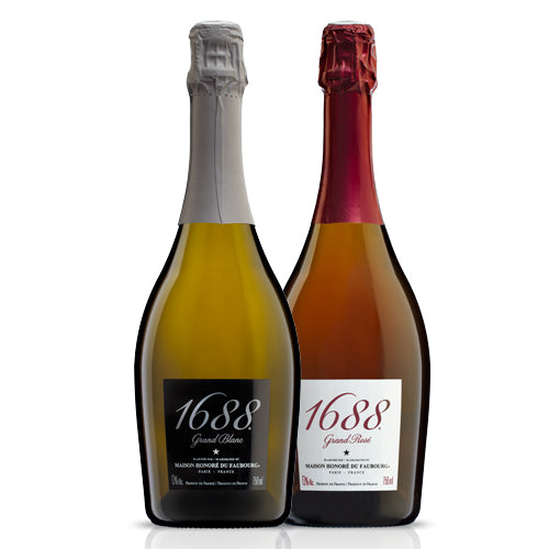 1688 Grand Rose Non-Alcoholic Sparkling-1 case (6 bottles)