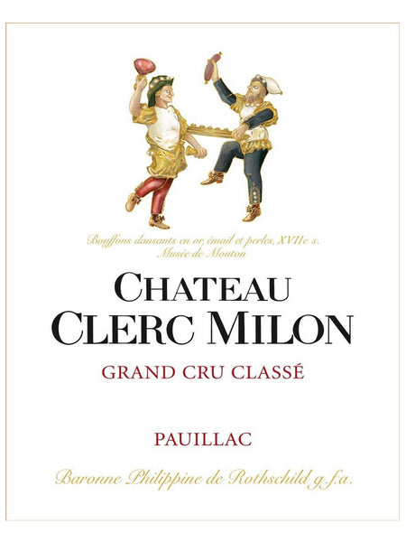 Group Buy Wine Special : Chateau Clerc Milon 2012
