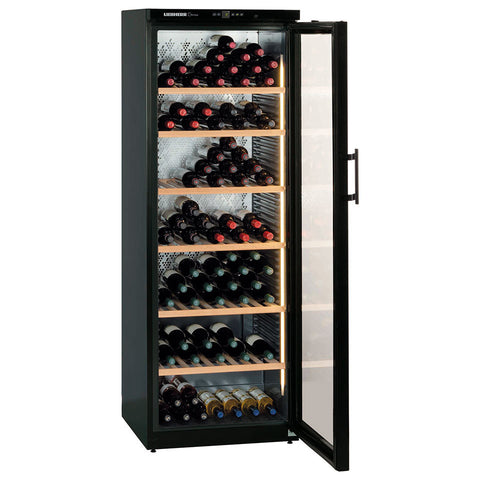 Barrique Wine Cabinet 195 bottles LED