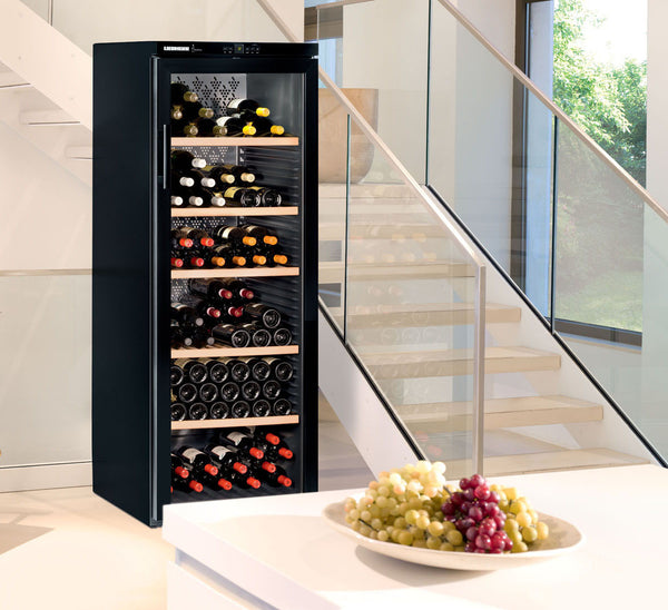 Barrique Wine Cabinet 168 bottles LED